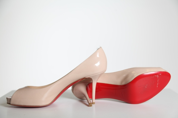 Our new red soles