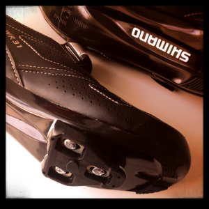 Shimano Women's Road Cycling shoes with LOOK Delta bike cleats