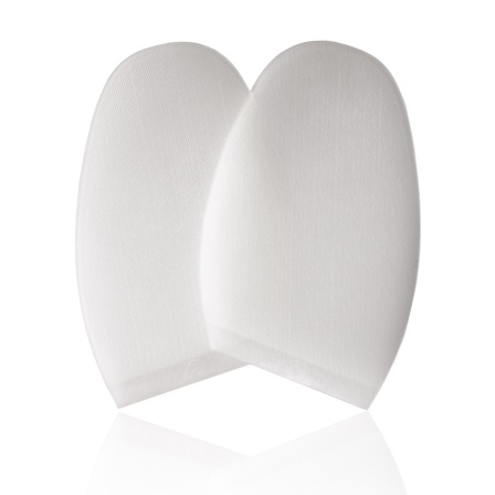 Clear Designer Rubber Soles