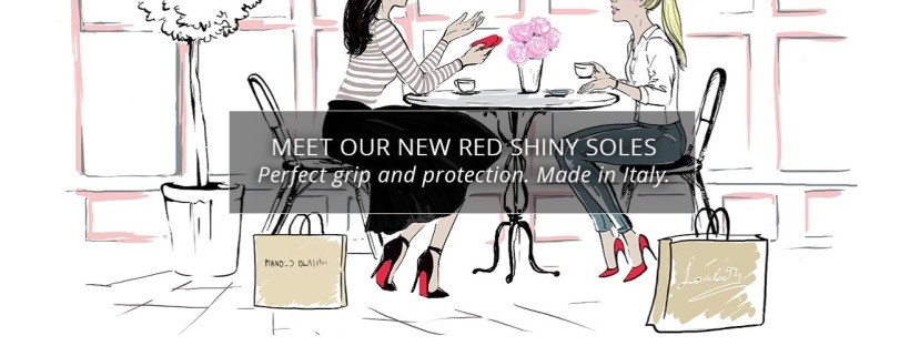 6ebf051633d The only way to protect your Christian Louboutin red soles. The new ...